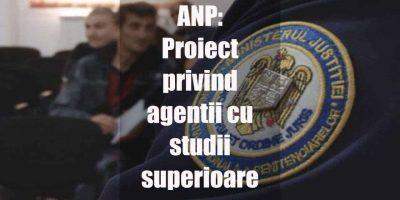 Proiect privind agentii cu studii superioare, in consultare