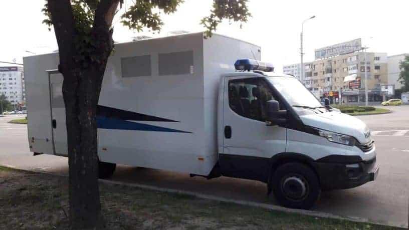 Duba detinutilor, pentru transportul personalului