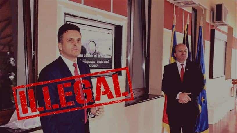 Directorul Dobrica, uzurpare de calitati oficiale