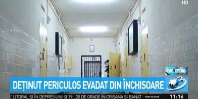 Evadarea care pune in discutie siguranta sistemului penitenciar