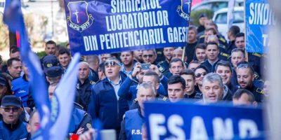 Proteste in penitenciare, FSANP continua